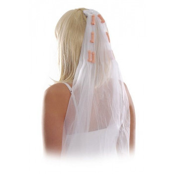 Фата с пенисами Bachelorette Party Pecker Veil